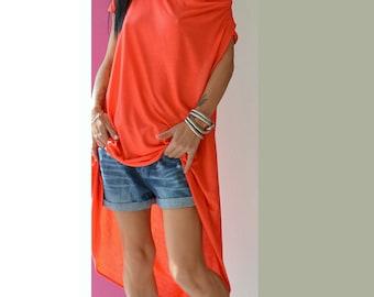 Oversize Loose Top, Women Maxi Tunic, Summer maxi tunic, Plus Size Maxi tunic, Casual Loose tunic, Asymmetric Loose Top, Maxi Loose shirt