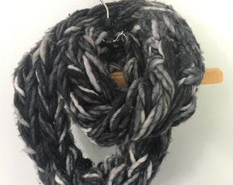 Large Knit Infinity Scarf