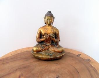 Antique SinoTibetan Vairocana Buddha.