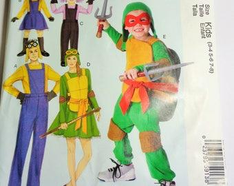 UNCUT McCall's COSTUMES PATTERN  #MP549/M7214 Kids (3-4, 5-6, 7-8) 2015