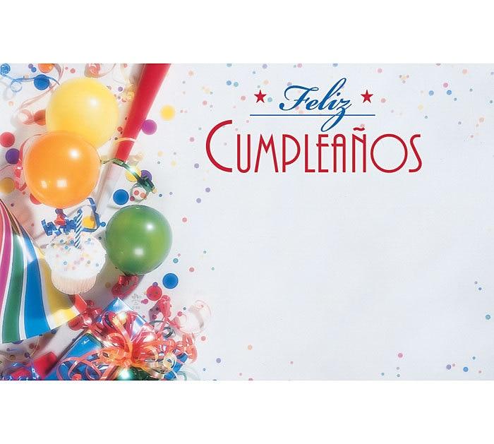 Birthday Card In Spanish To Print Driveeapusedmotorhomefo