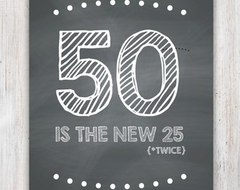 Funny 50th Birthday Card (Printable)