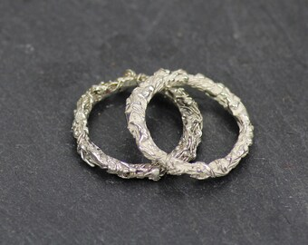 ROOT ring - ring made of silver - African Safari - silver