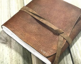 Large Leather Journal Personalized Large Leather Notebook Large Leather Diary Large handmade Leather Journal