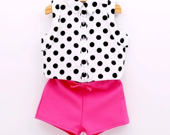 Shorts and Shirt Set