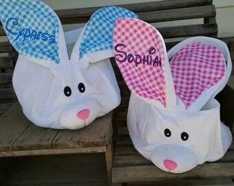 Plush (stuffed) ADORABLE Easter Bunny Totes