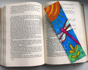 Dragonfly Bookmark by Elizabeth Claire