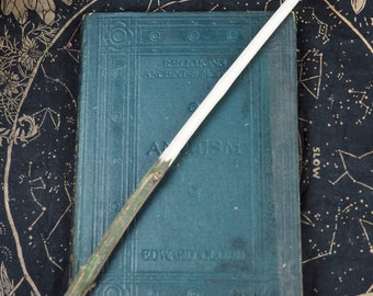Rare Spindle Wand  - Spinning Magic  - For Pagans, Witches, Wiccans, Magic, Ritual, Ogham Tree, Forfedha