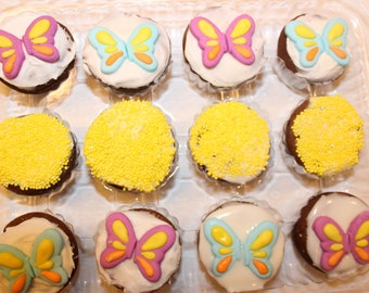 Butterfly Pony Cupcakes