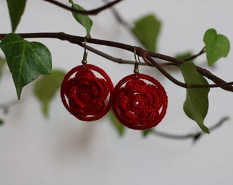 HAND CROCHETED EARRINGS