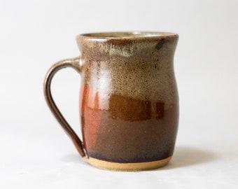 Quilted Brown Mug