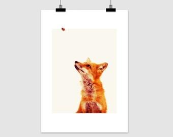 """fine-art print """"fox gaze"""""""