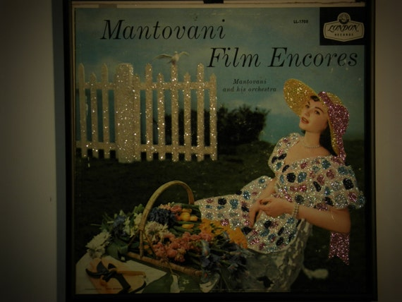 Glittered Record Album - Montovani - Film Encores