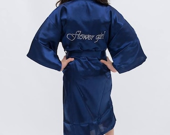 Flower Girl Robes - Child Robes - Youth Robes Personalized Pagent Wedding Robes