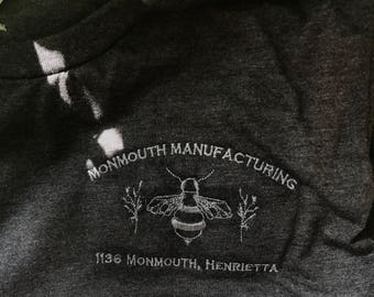 Monmouth Manufacturing T-shirt (Custom Orders)