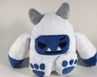 Soft Plush Yeti / Abominable Snowman