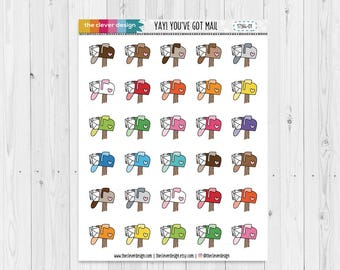You've got Mail | Happy Mail | Planner Stickers | 17364-01