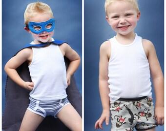 Cute boys in panties