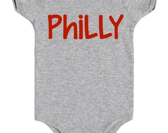 Made in philadelphia etsy philly onesie philly baby negle Gallery