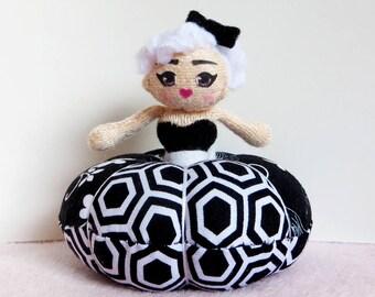 Pincushion Doll Dress Plush: Lita
