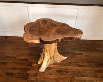 Live Edge Curly Maple Coffee Table 3