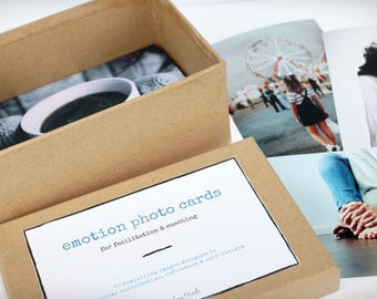 Facilitation Photo Card Sets (Emotions) - Boxed Set of 70 photographs