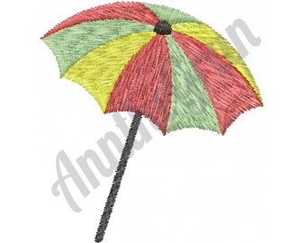 Umbrella - Machine Embroidery Design