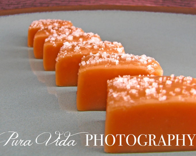 Fleur de Sel (Salted) Caramels - Featured by the Food Network - 1 pound listing