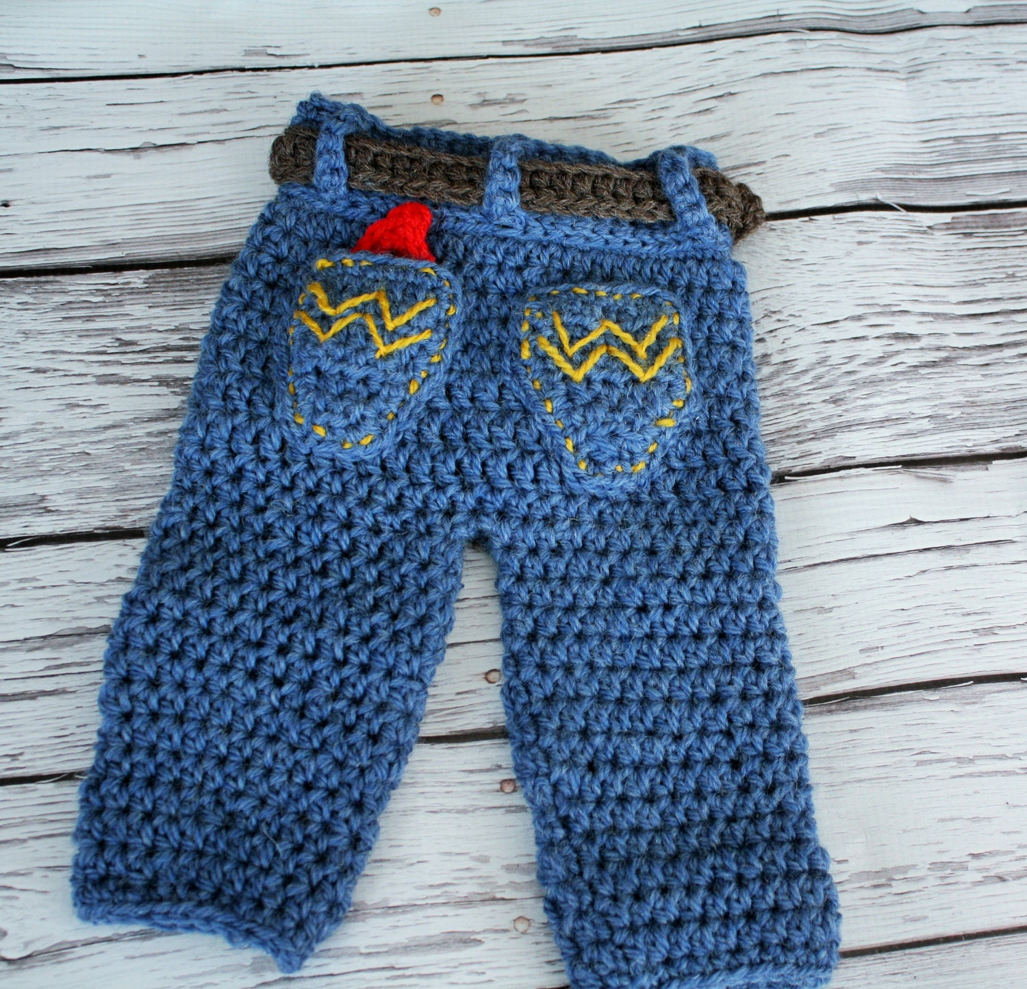 Baby Cowboy Pants Baby Jeans Crochet Baby Jeans Baby