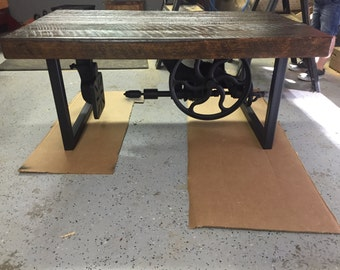 Custom Rustic reclaimed coffee table to be built