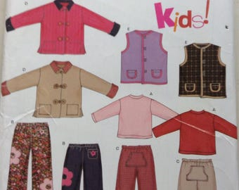 Boys and girls back to school clothes New Look sewing pattern