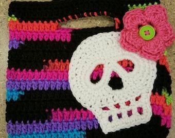 Small Crochet tote bag
