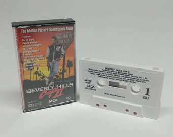 Beverly Hills Cop 2 1987 Cassette Tape Soundtrack