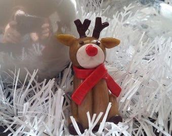 Christmas reindeer to hang on your Christmas tree