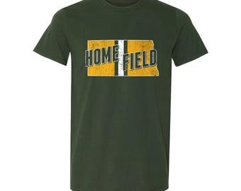 Home Field North Dakota T-shirt
