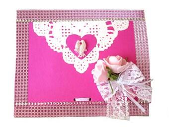 Map for money gifts, wedding, wedding card money holder, wedding card box individually