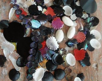 Vintage Large Mixed Lot Textured Fantasy Sequins more than 150pc