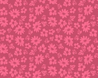 Extravaganza Pink Floral C4645-Pink from Riley Blake by the yard