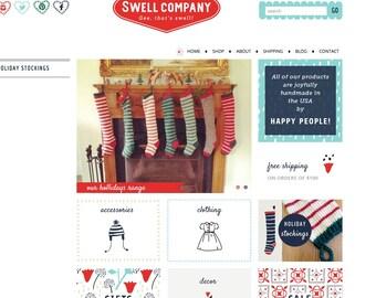 Custom Website Layout Design