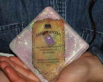 Harry Potter Crystal Soap, Soap, Love potion,Amortentia,Valentine's Day,Perfect Gift,Pink,Surprise,Gift for her, Harry Potter Bathbomb,Soaps