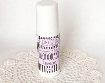 Lavender Deodorant | MOM Deodorant | Aluminum-Free Deodorant | Vegan Deodorant | Heirloom Deodorant
