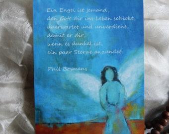 "Postcard ART ""Angel"""