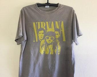 Nirvana shirt Band