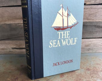 """Vintage """"The Sea Wolf"""" by Jack London 1989 - Classic Novel - Classic Literature"""