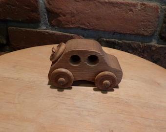 Wooden car, wood car, vintage wood car, wooden toy, wood toy car, desk decor