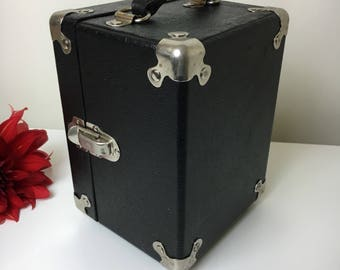 50's Science Is Real Microscope Case Turned Handbag