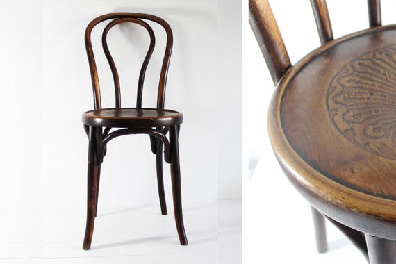 Like this item? - Bistro Chair Vintage Bentwood Chair Fischel Chair Bentwood