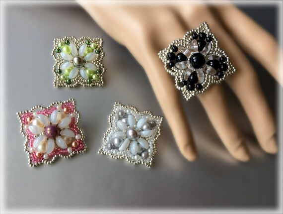 BigDropBox ring beading TUTORIAL