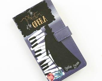 Phantom of the Opera Gift, Phantom of the Opera Phone Case, Gaston Leroux iPhone Case, Book Phone Case, Book iPhone Case, Wallet Phone Case