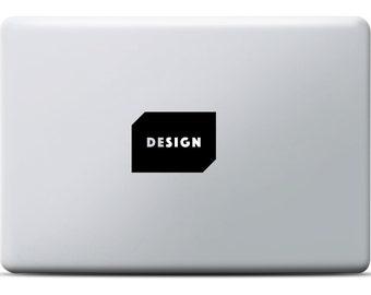 DeSign MacBook Sticker, MacBook Pro / MacBook Air, for designer and desginlovers